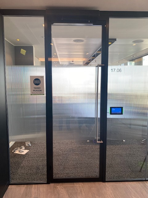 Door Refurbishment at The Shard in Central London