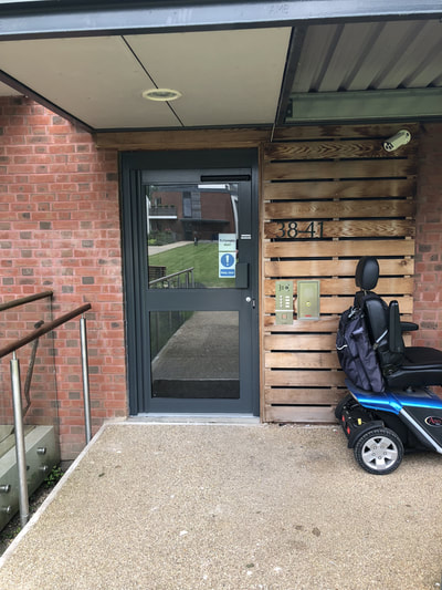 automatic swinging doors Swindon
